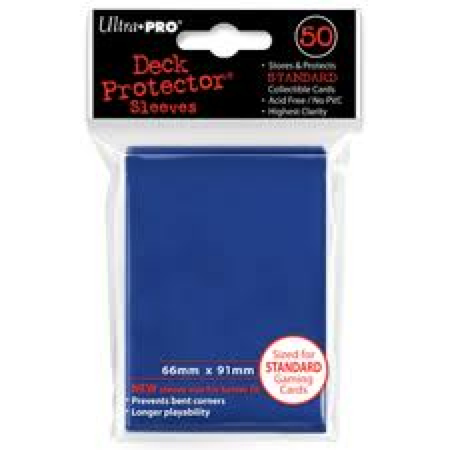 ULTRA-PRO Deck Protector - Solid Blue (Niebieskie) 50 szt.