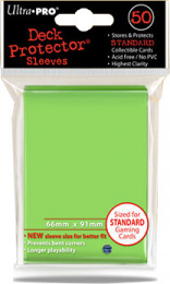 ULTRA-PRO Deck Protector - Solid Lime Green (limetka)