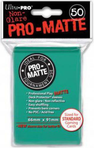 ULTRA-PRO Deck Protector - Pro-Matte Non-Glare Aqua (Morskie) 50 szt.