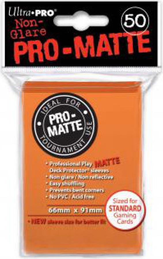 ULTRA-PRO Deck Protector - Pro-Matte Non-Glare Orange (Pomarańczowe) 50
