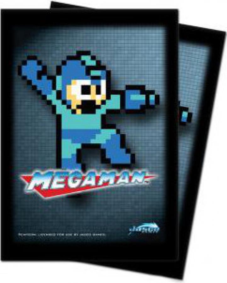 ULTRA-PRO Deck Protector - Megaman 8-bit 50