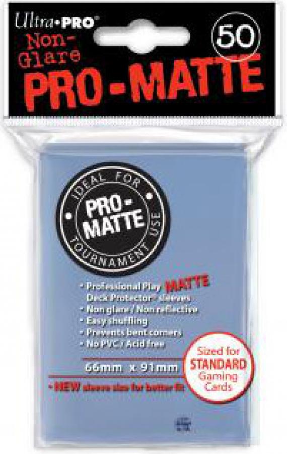 ULTRA-PRO Deck Protector - Pro-Matte Non-Glare Przezroczyste 50