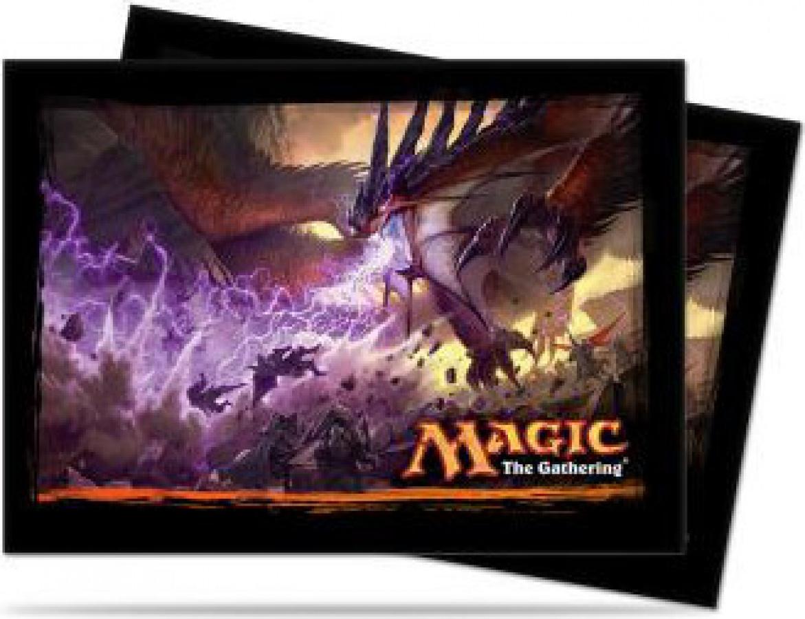 ULTRA-PRO Deck Protector - Dragons of Tarkir V1 Key Art Horizontal 80