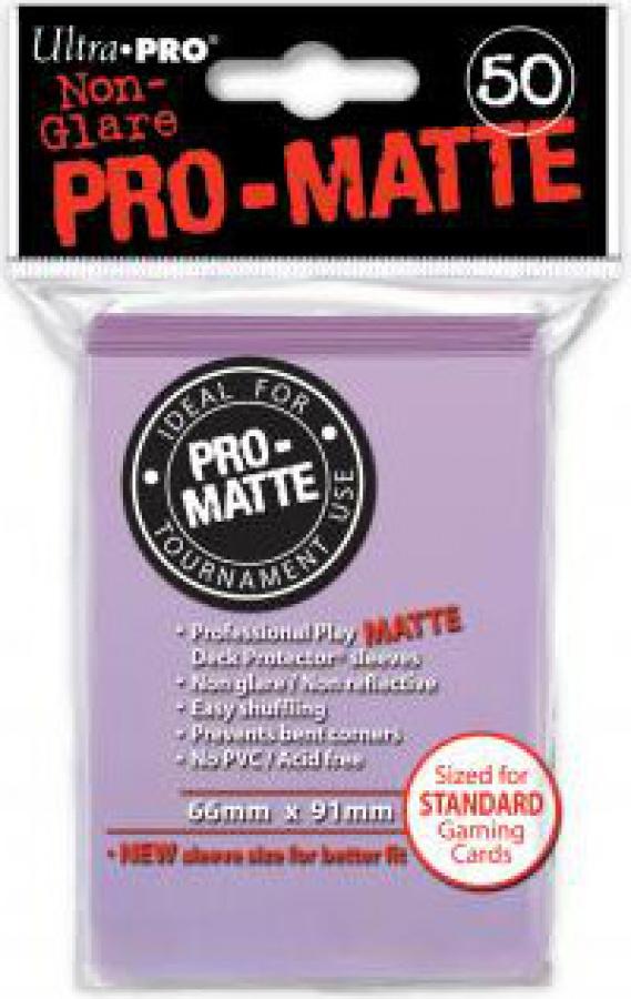 ULTRA-PRO Deck Protector - Pro-Matte Non-Glare Lilac (Liliowe) 50