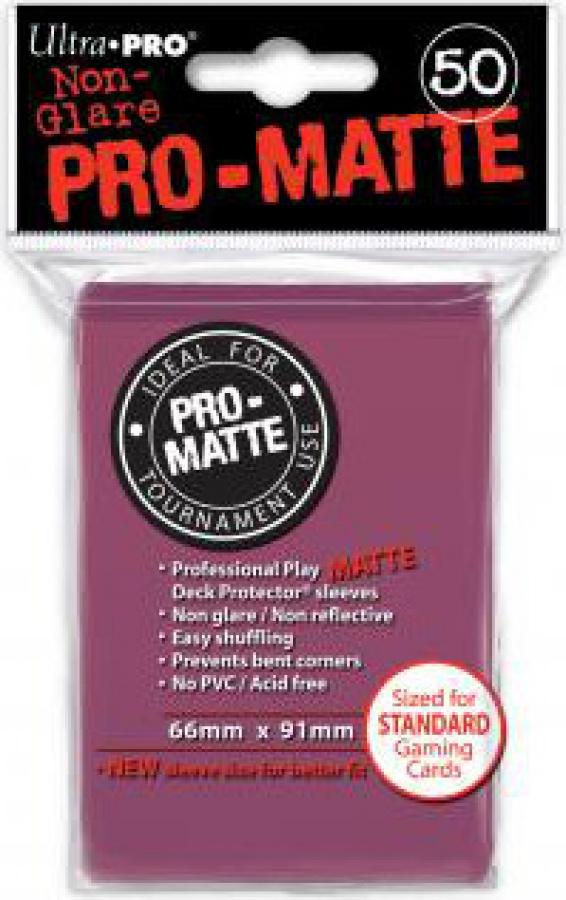 ULTRA-PRO Deck Protector - Pro-Matte Non-Glare Blackberry (Jeżynowe) 50