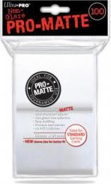 ULTRA-PRO Deck Protector - Pro-Matte Non-Glare White (Białe) 100