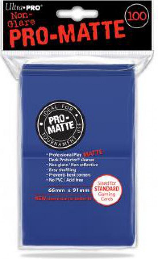 ULTRA-PRO Deck Protector - Pro-Matte Non-Glare Blue (Niebieskie) 100