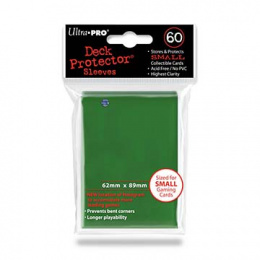 ULTRA-PRO Deck Protector SMALL Green (zielone)