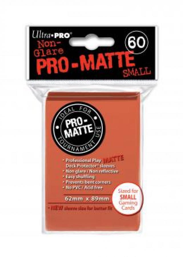 ULTRA-PRO Deck Protector Pro-Matte SMALL Peach (brzoskwiniowe)