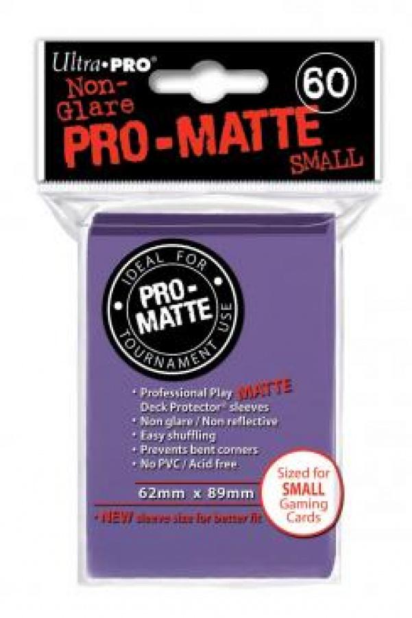 ULTRA-PRO Deck Protector Pro-Matte SMALL Purple (purpurowe)