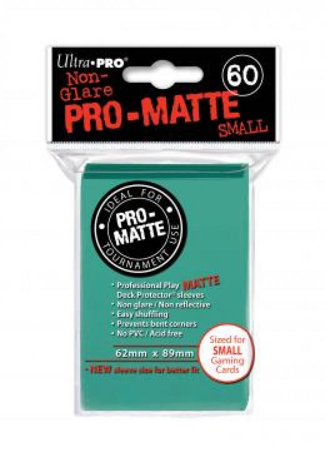 ULTRA-PRO Deck Protector Pro-Matte SMALL Aqua (morskie)