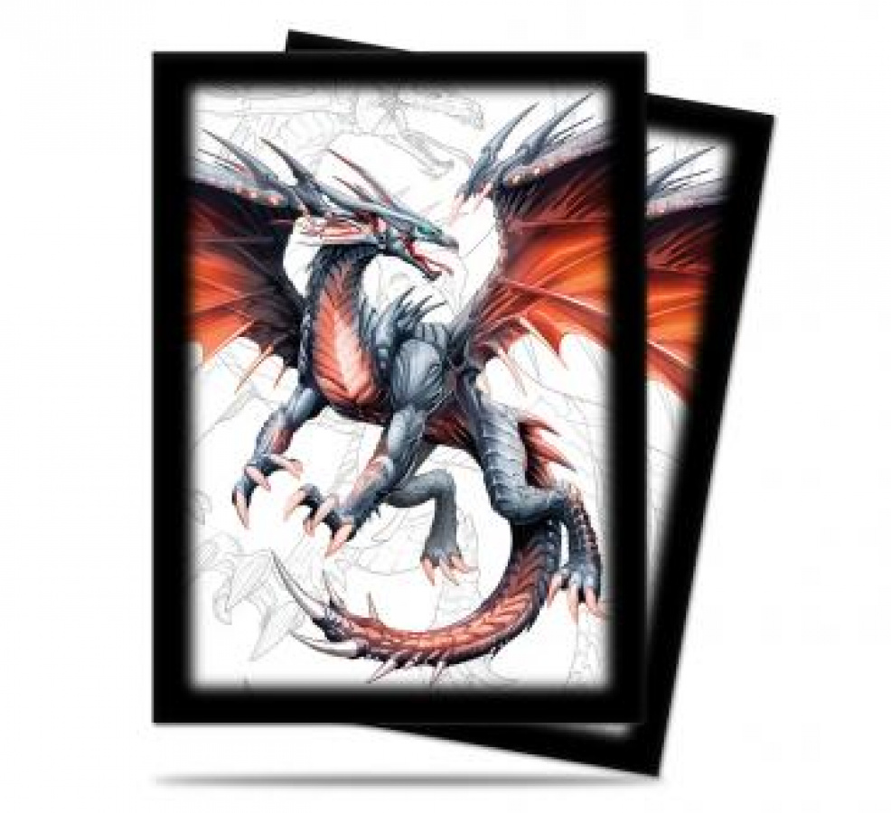 ULTRA-PRO Deck Protector - Black Dragon 50