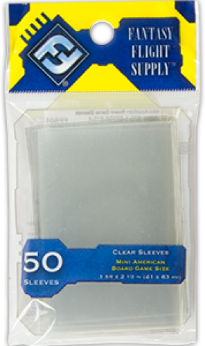 FFG Mini American Board Game Sleeves 50