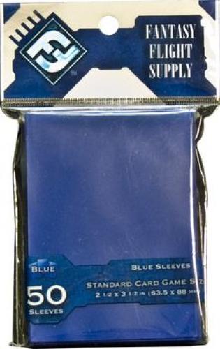 FFG Standard Card Game Sleeves - Blue (Niebieskie) 50