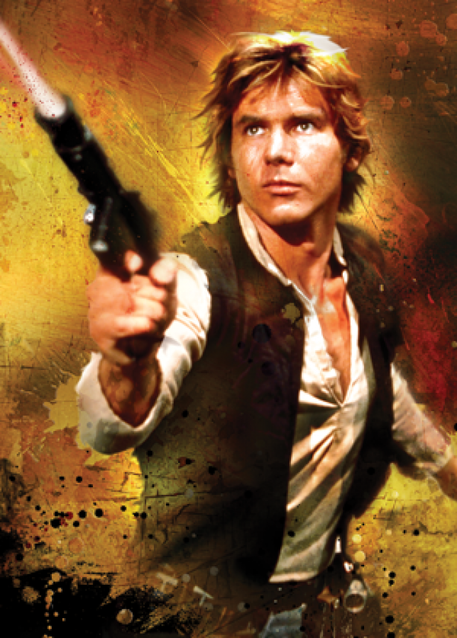 FFG Art Sleeves - Han Solo 50