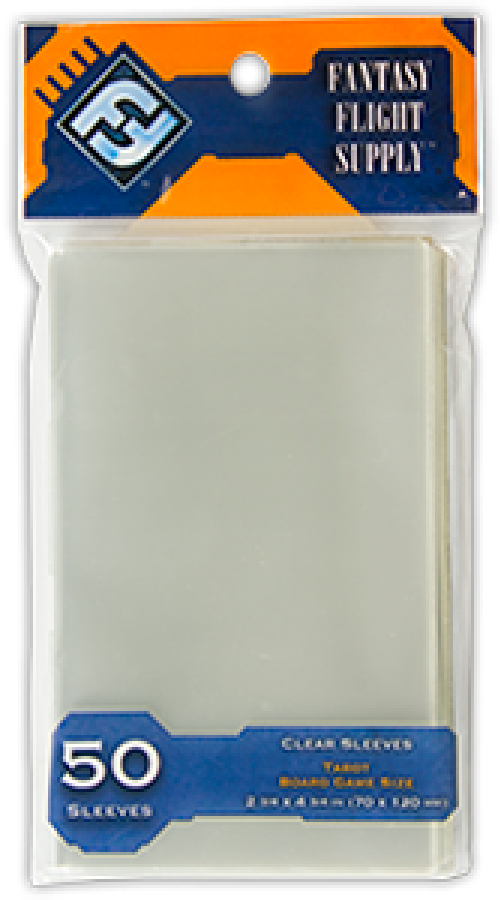 FFG Card Sleeves Tarot 50 (70x120mm)