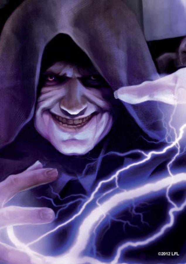 FFG Art Sleeves - Star Wars Force Lightning 50