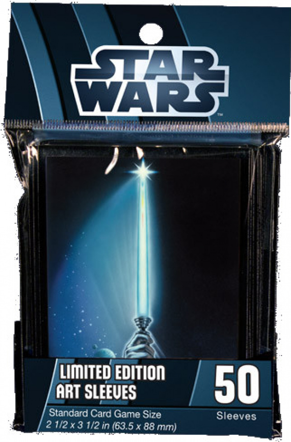 FFG Art Sleeves - Star Wars Lightsaber 50