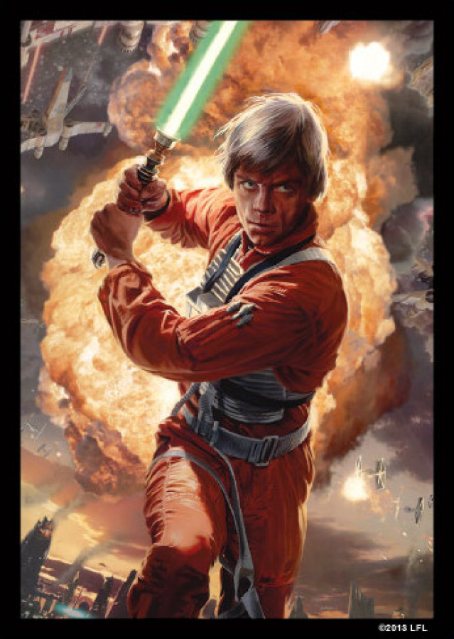 FFG Art Sleeves - Star Wars Power of the Light Side 50