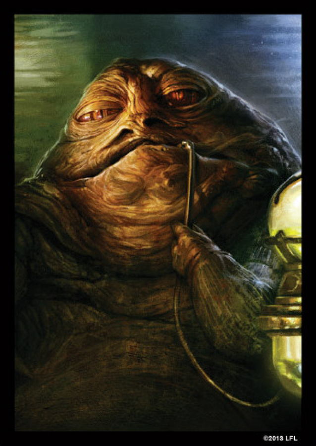 FFG Art Sleeves - Star Wars Jabba the Hutt 50