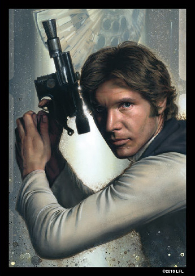 FFG Art Sleeves - Star Wars Han Solo 50