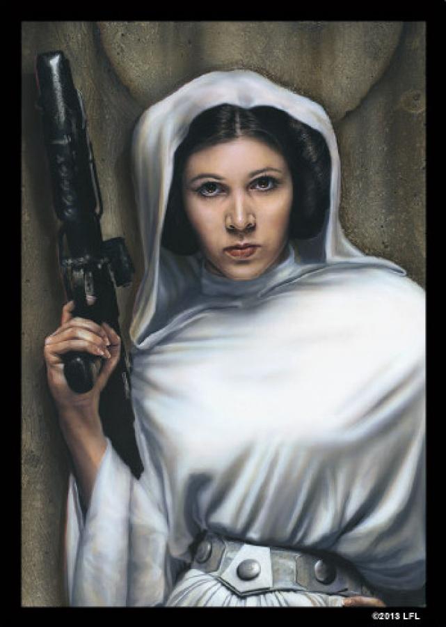 FFG Art Sleeves - Star Wars Princess Leia 50