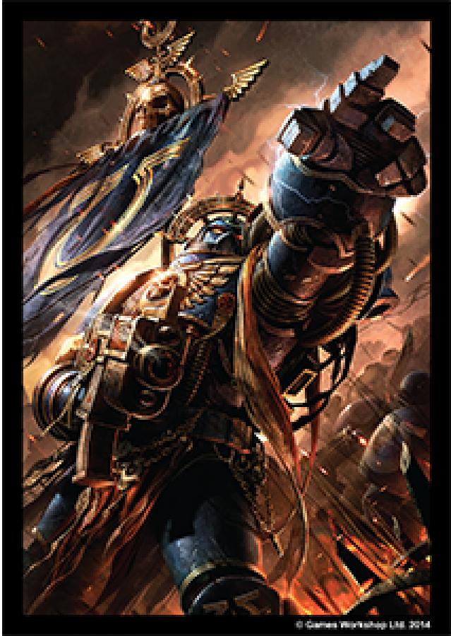 FFG Art Sleeves - Warhammer 40000: Space Marines 50