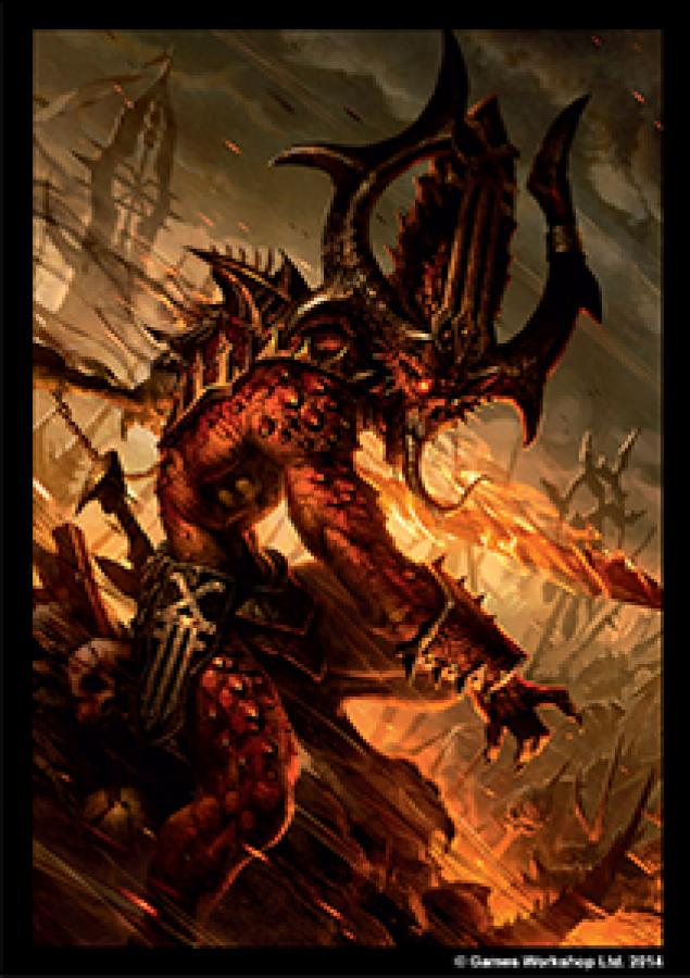 FFG Art Sleeves - Warhammer 40000: Chaos Daemons 50
