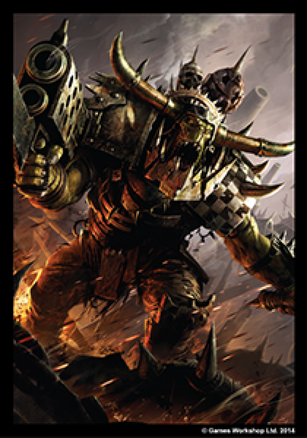 FFG Art Sleeves - Warhammer 40000: Orks 50