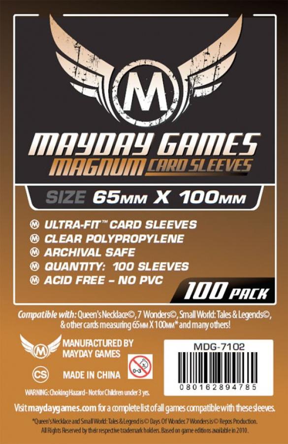 MAYDAY Koszulki Magnum Copper (65x100mm) 100 - Brown (Brązowe)
