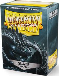 """Dragon Shield: Koszulki na karty (63x88 mm) """"Standard Size"""" Matte, 100 sztuk, Slate"""
