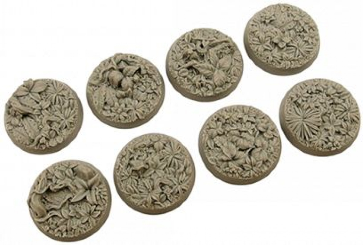 Jungle Bases Round 32 mm (4)