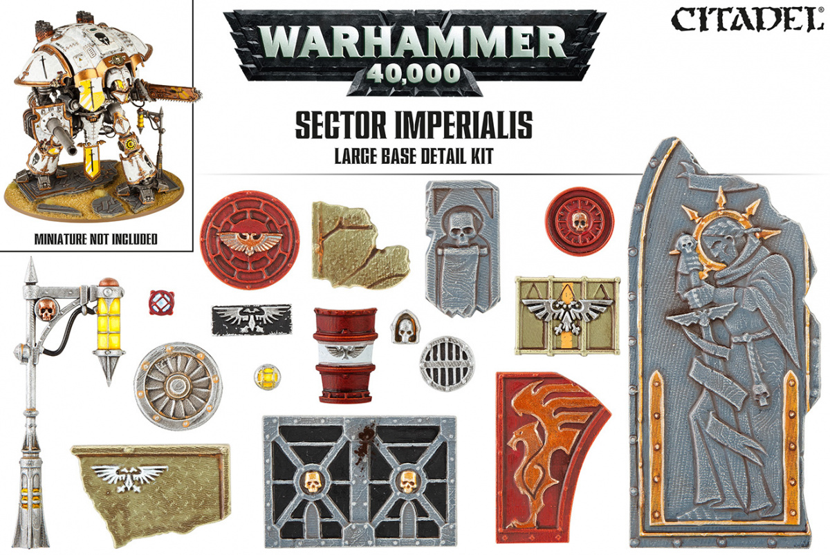 Citadel: Sector Imperialis Large Base Detail Kit