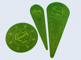 "Infinity Templates ""Green"" (3) New Version N3"