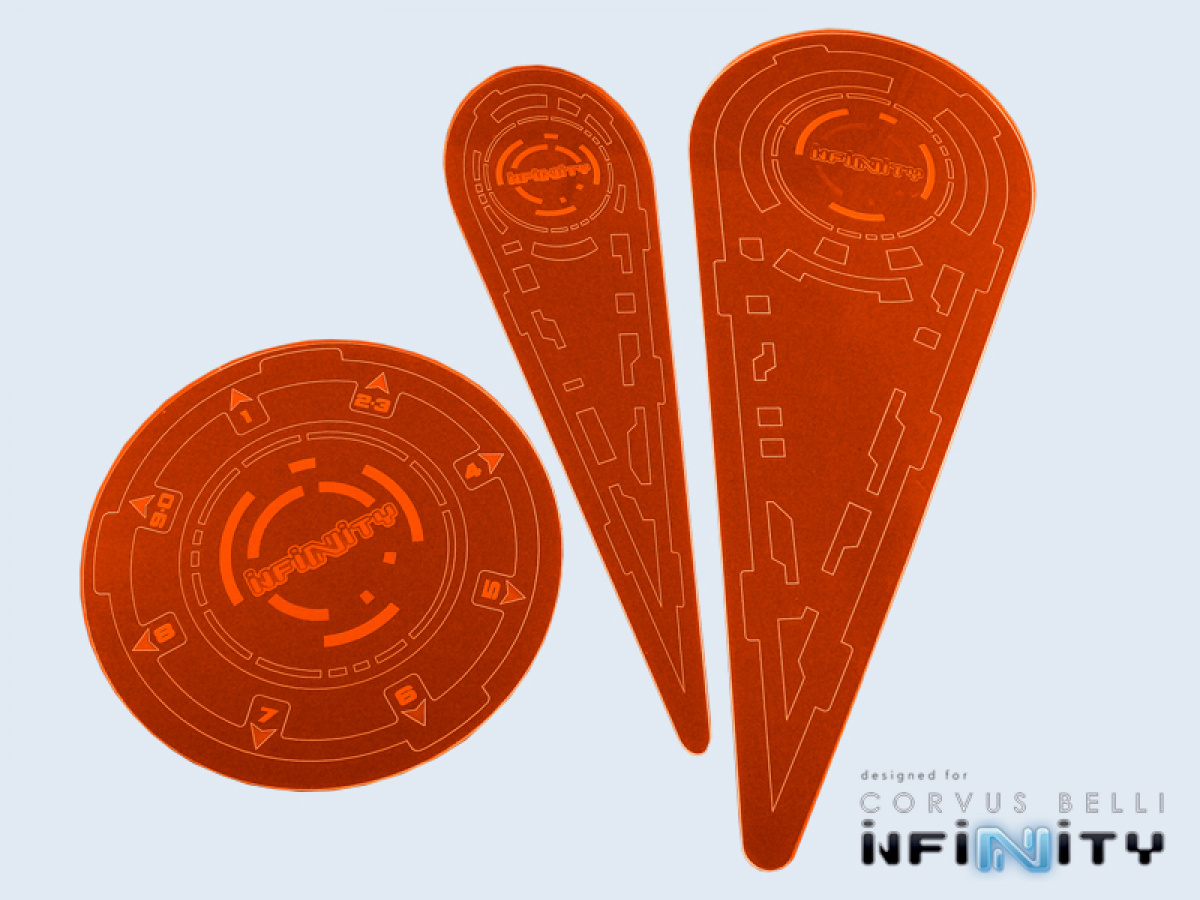 "Infinity Templates ""Orange"" (3) New Version N3"
