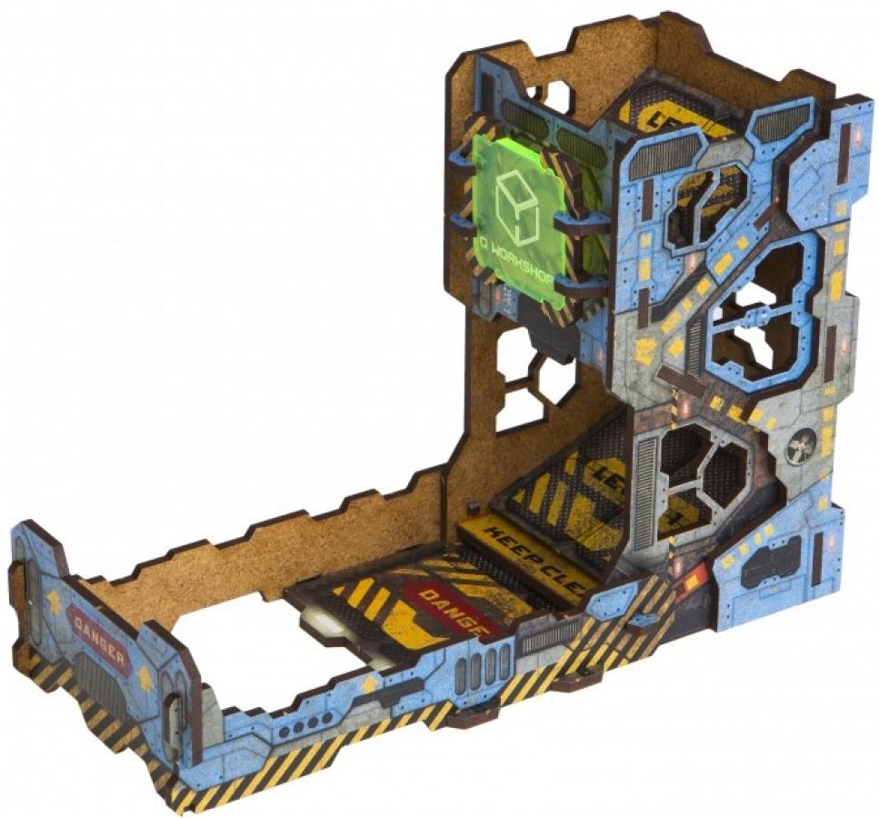 Dice Tower - Tech (kolorowa)