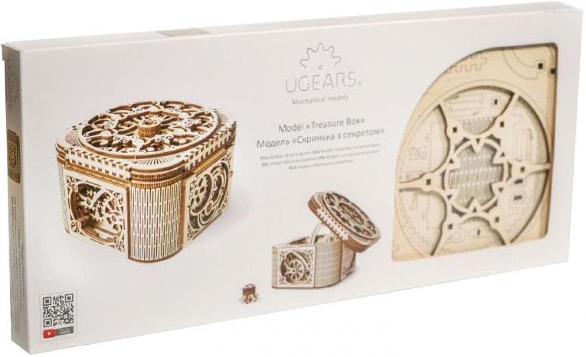 UGears - Skrzynia skarbów