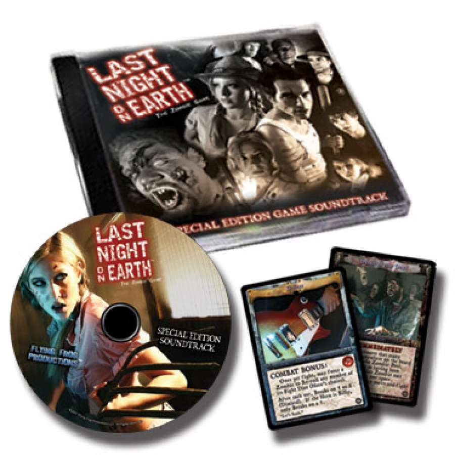 Last Night on Earth Special Edition Soundtrack CD