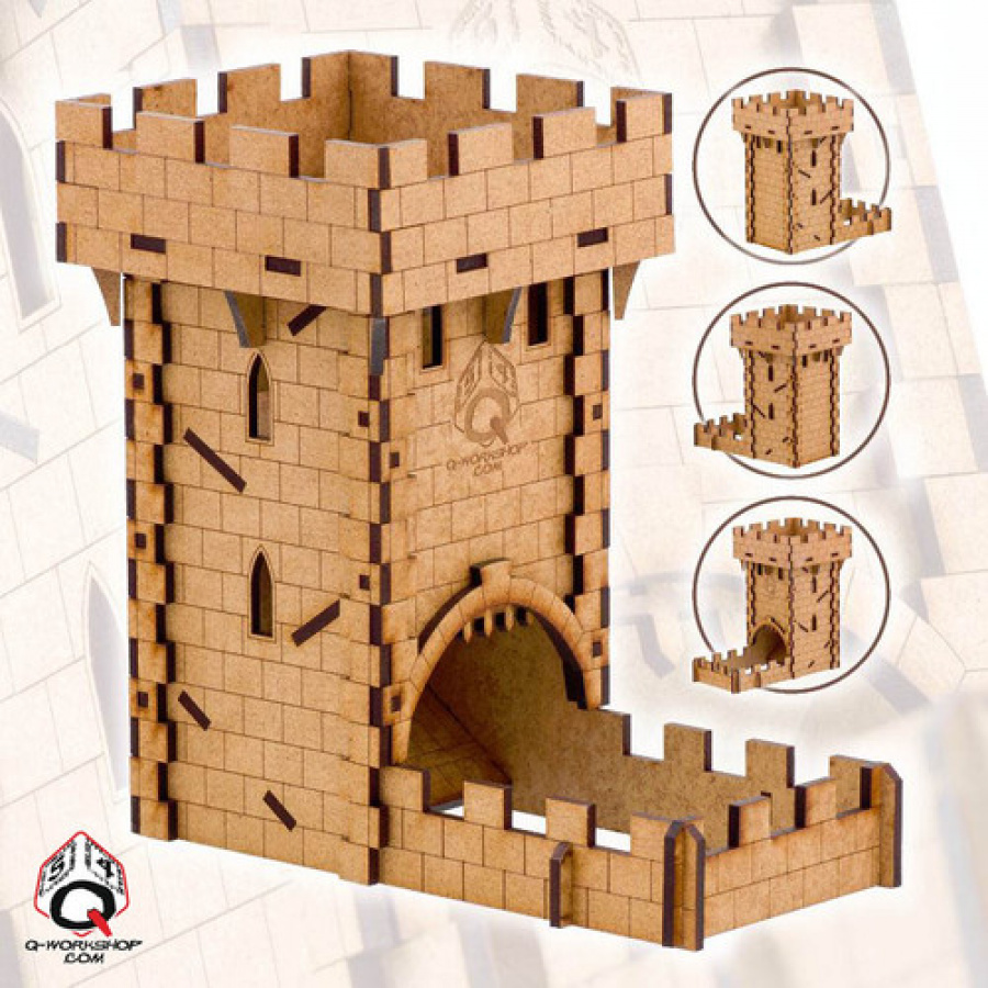 Dice Tower Medieval