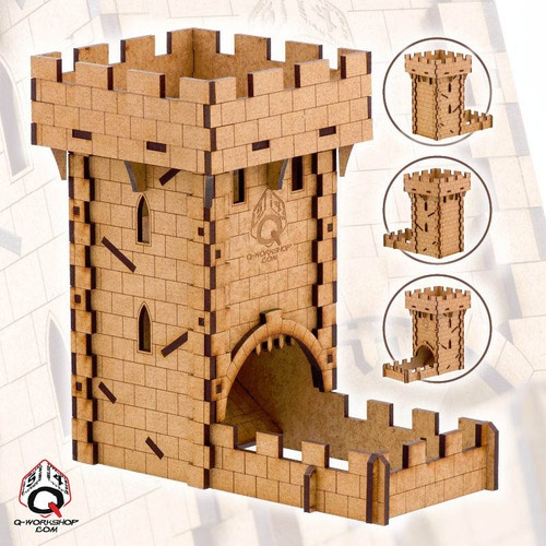 Dice Tower Medieval