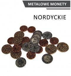 Metalowe Monety - Nordyckie (zestaw 24 monet)