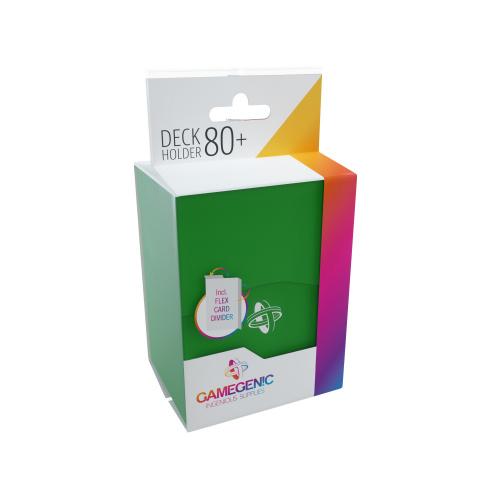 Gamegenic: Deck Holder 80+ - Green