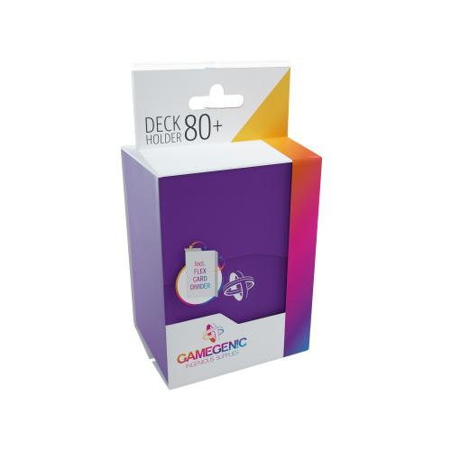 Gamegenic: Deck Holder 80+ - Purple
