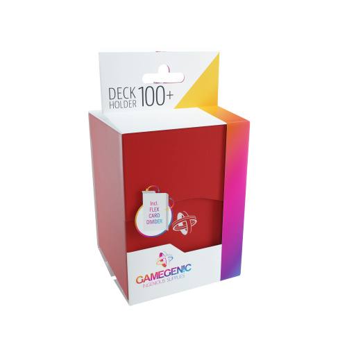 Gamegenic: Deck Holder 100+ - Red