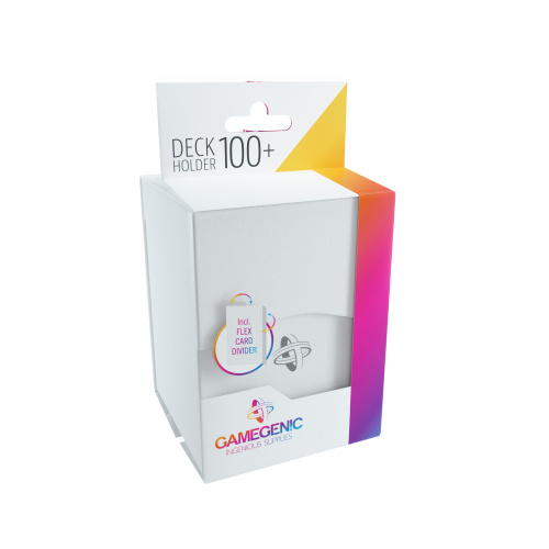 Gamegenic: Deck Holder 100+ - White