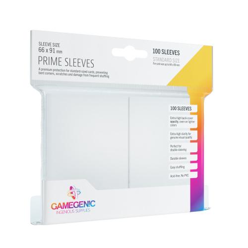 Gamegenic: Prime CCG Sleeves (66x91 mm) - White, 100 sztuk