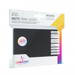 Gamegenic: Matte Prime CCG Sleeves (66x91 mm) - Black, 100 sztuk