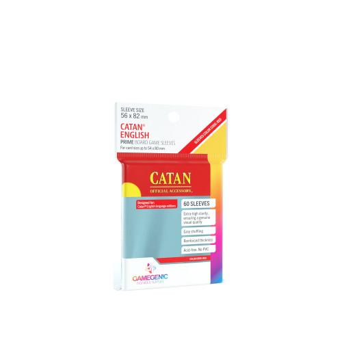 Gamegenic: Prime Catan-Sized Sleeves (56x82 mm), 60 sztuk