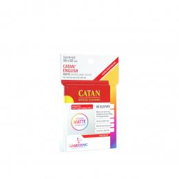 Gamegenic: Matte Catan-Sized Sleeves (56x82 mm), 60 sztuk