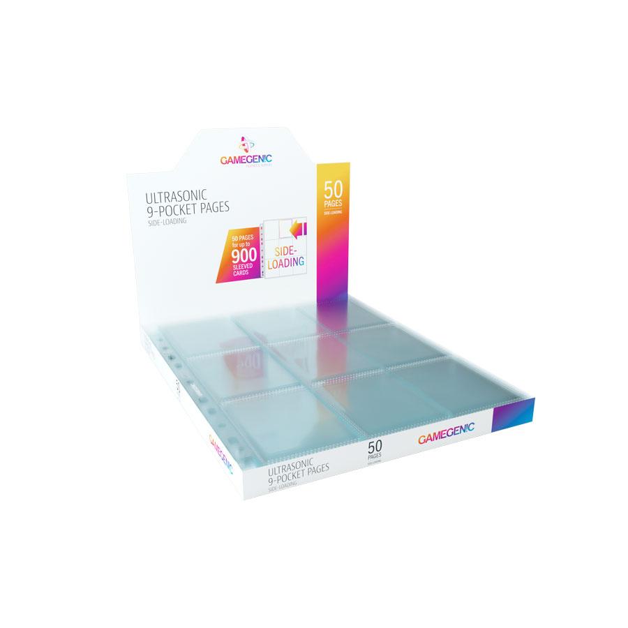 Gamegenic: Ultrasonic 9-Pocket Pages Sideloading (50 szt)